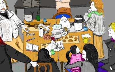 """Atelier """"Des Goûters sains faciles à préparer"""" avec Annabella de l'association Anima – 17 Fèvrier 2018"""