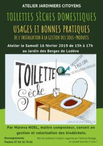 Affiche -Toilettes sèches domestiques, usages et bonnes pratiques