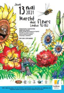 13 mai : Marché aux fleurs de Lodève @ Esplanade de Lodève