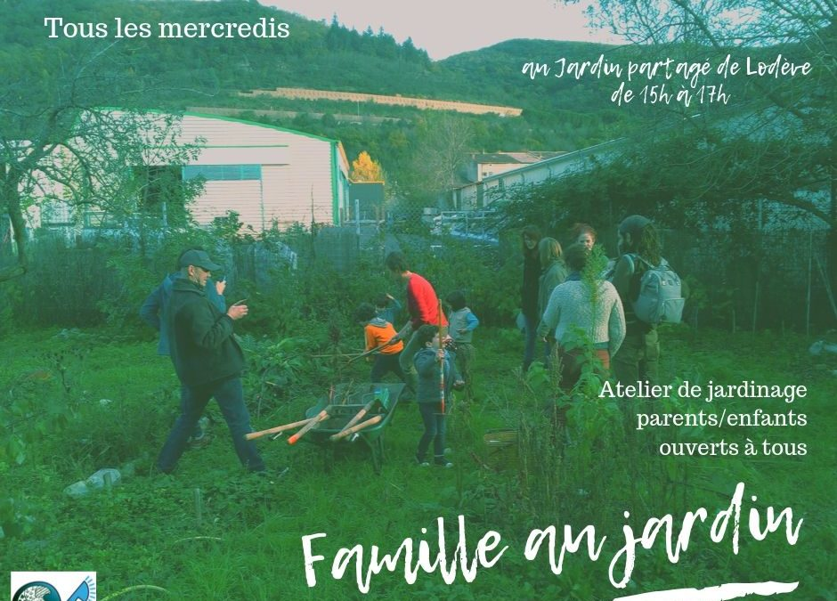 Familles au Jardin