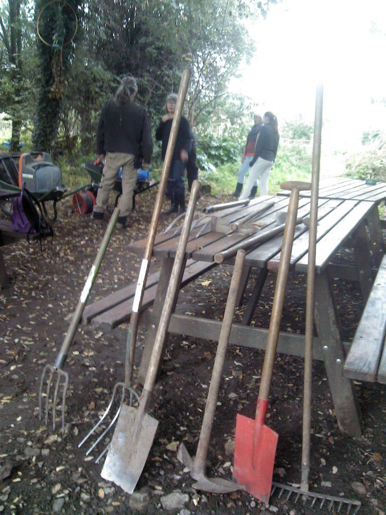 Les outils partagés du Jardin des Berges