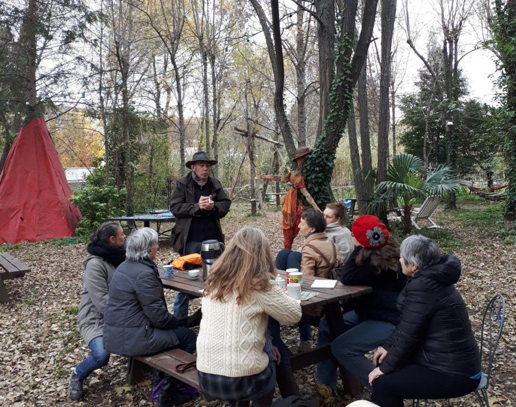 Atelier taille des fruitiers au Jardin des Berges