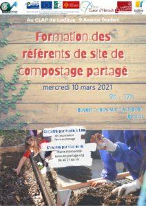 10 mars : Formation référent de site de composteur partagé @ Jardin des Berges