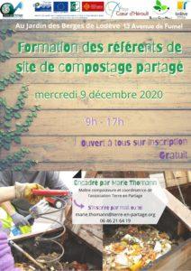 Formation référent de site de composteur partagé @ Jardin des Berges