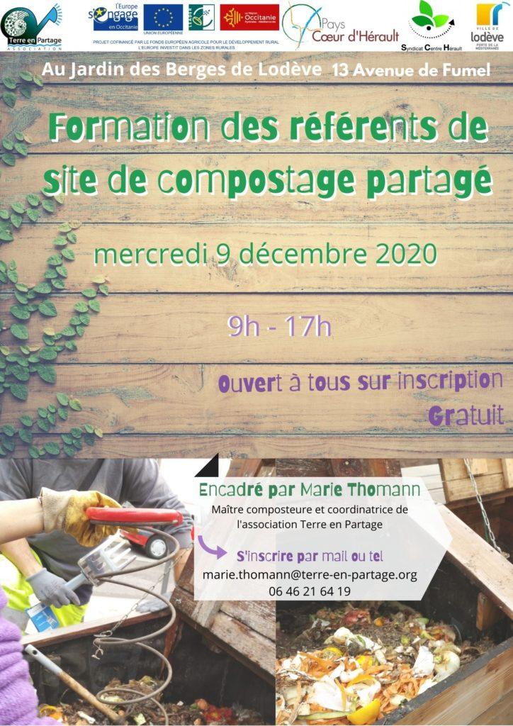 formation compost décembre lodève compostage