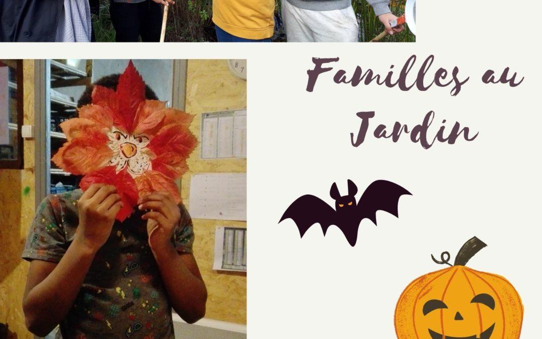 "Familles au Jardin ""Halloween"""