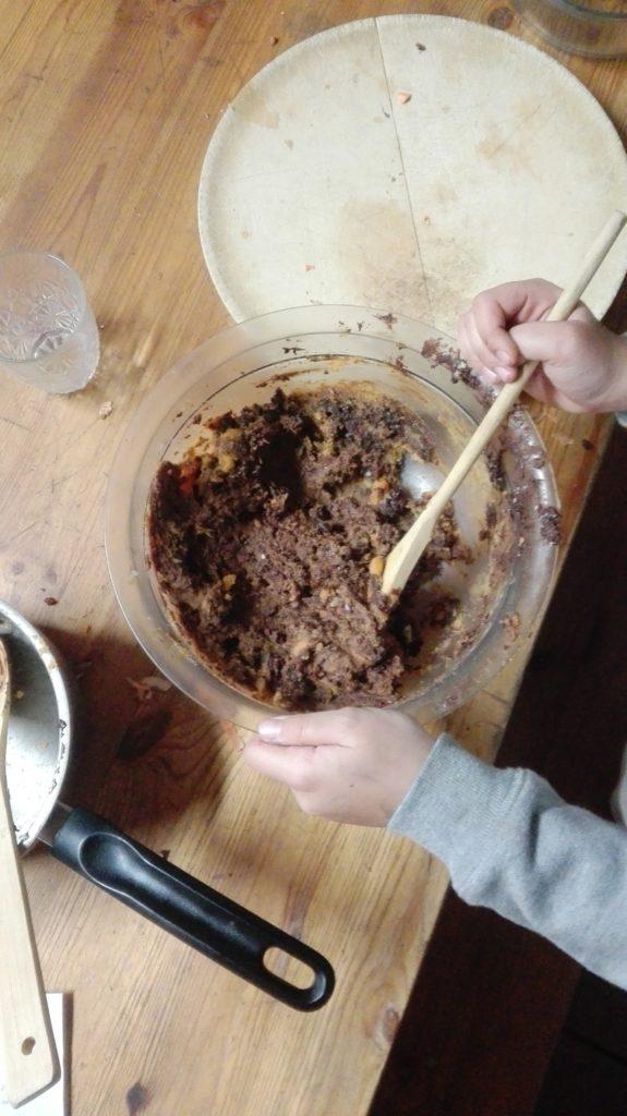 gateau recette chocolat patates douces