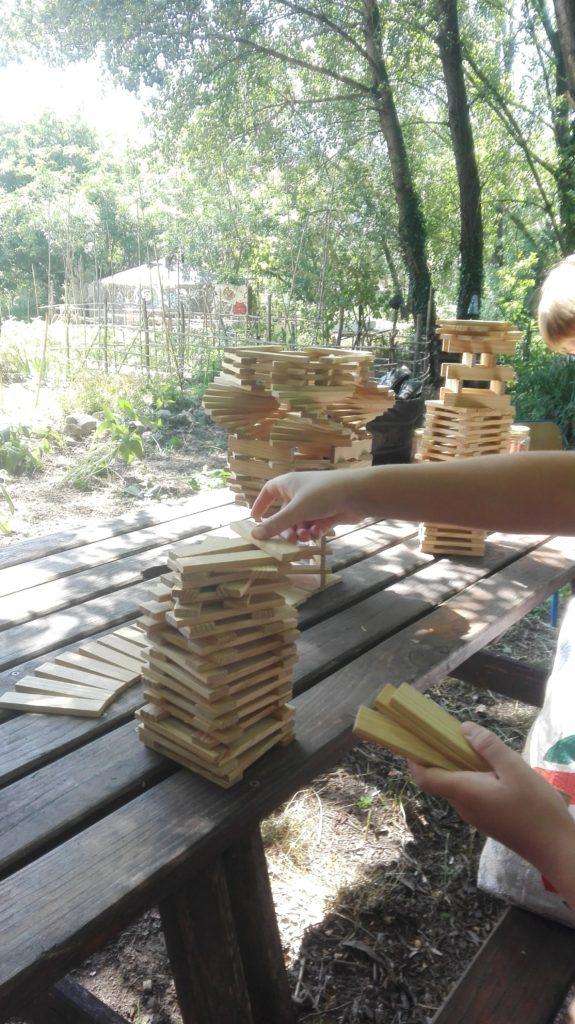 jeux jardin enfants mercredi
