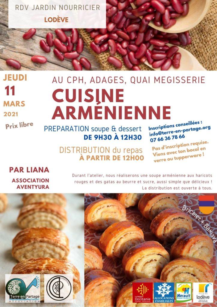 armenie cuisine jardin