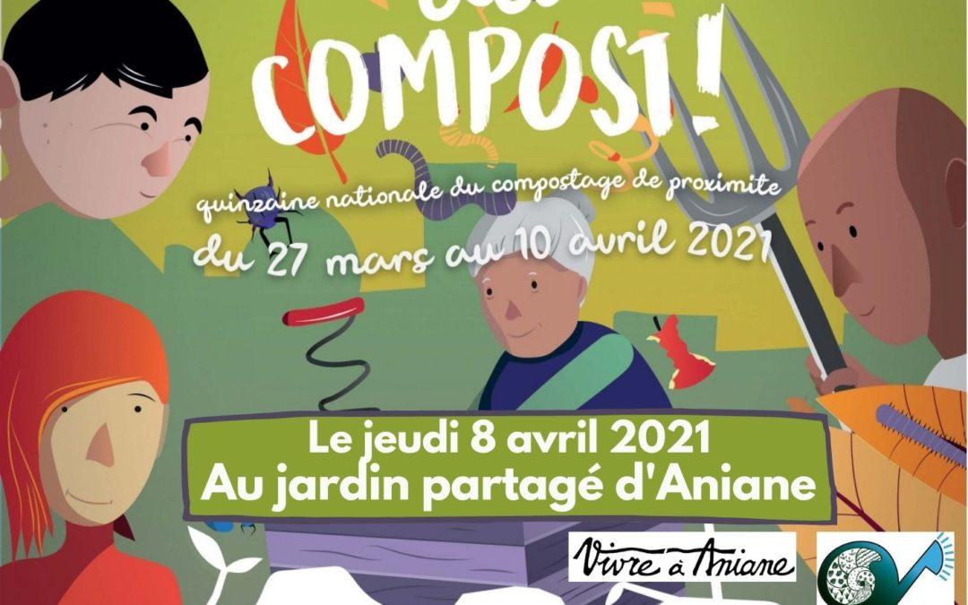 8 avril : Composter les déchets verts du jardin